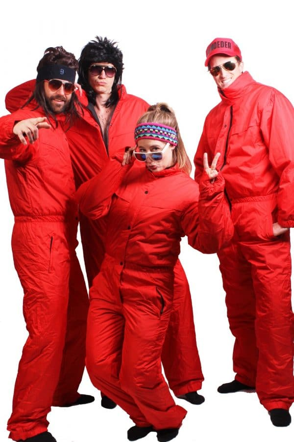 Onepiece Skisuit Red